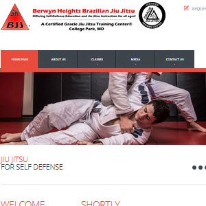 Berwyn Heights BJJ Website